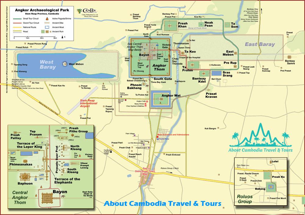 Siem Angkor Map
